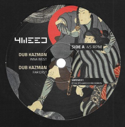 Dub Kazman - Inna West / Dub Kazman - Far East / Infiammati Dub - Stepper March / Dub (4Weed) 12""